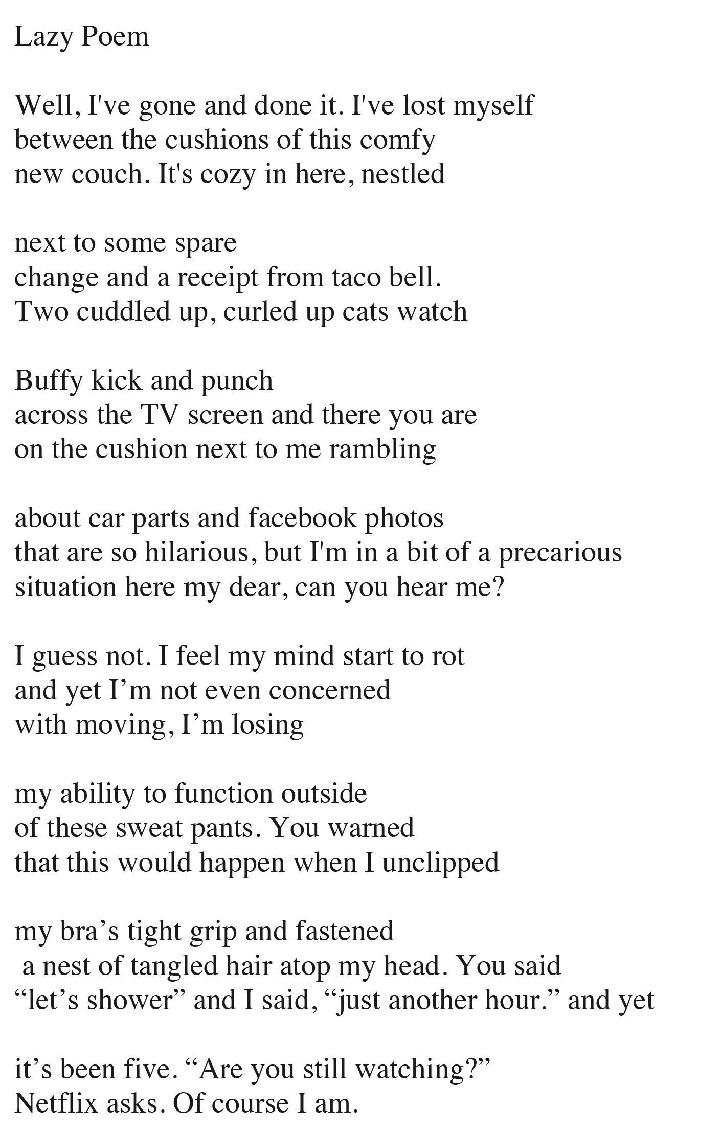 poem | Poetry and Pesto